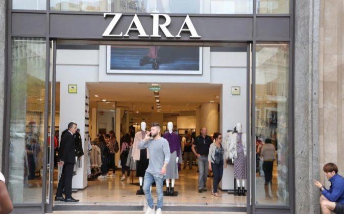 Imagen de una tienda de Zara en Barcelona