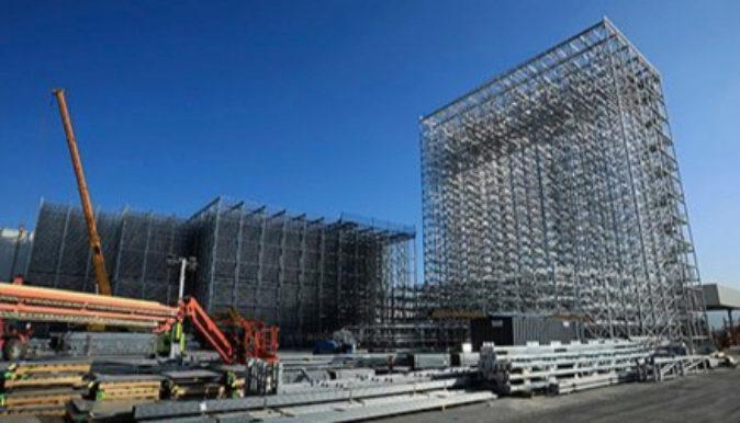 Obras de las nuevas instalaciones en la planta de Seat en Martorell