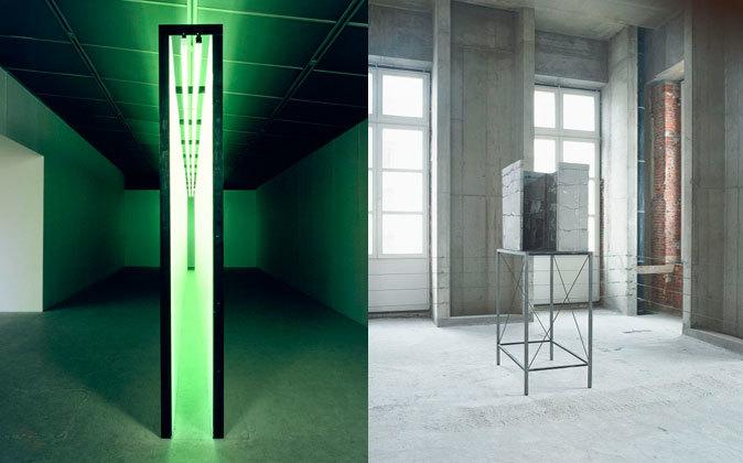'Pasillo de luz verde', de Bruce Nauman, y...