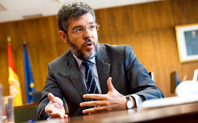 El secretario de Estado de Presupuestos y Gastos, Alberto Nadal