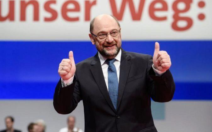 El líder de los socialdemócratas alemanes, Martin Schulz.