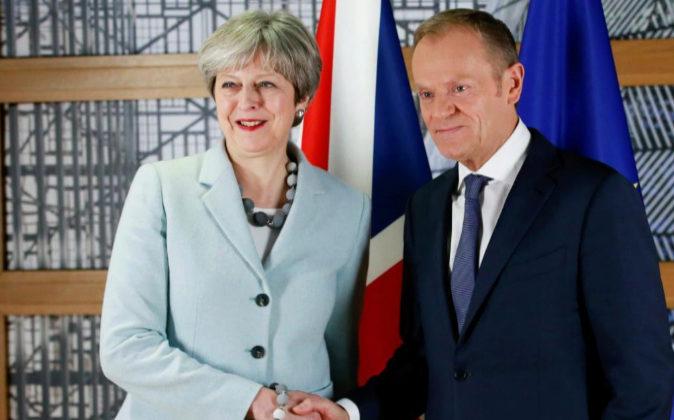 El presidente del Consejo Europeo, Donald Tusk, recibe hoy a la...