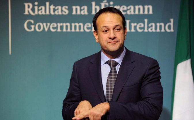Foto de archivo del primer ministro irlandés, Leo Varadkar.