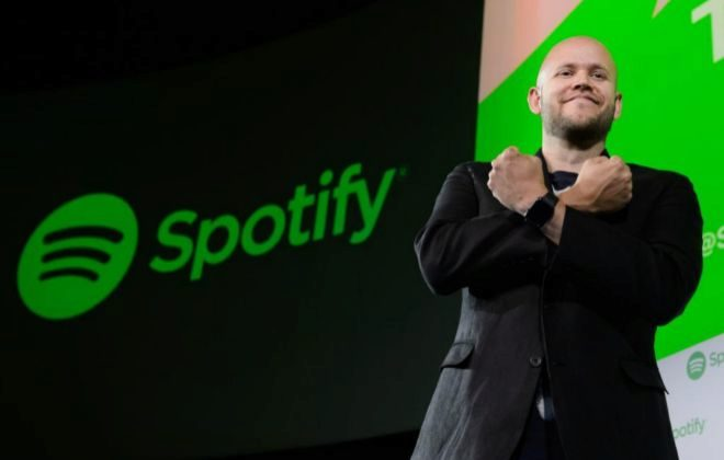 Daniel Ek, consejero delegado y fundador de Spotify