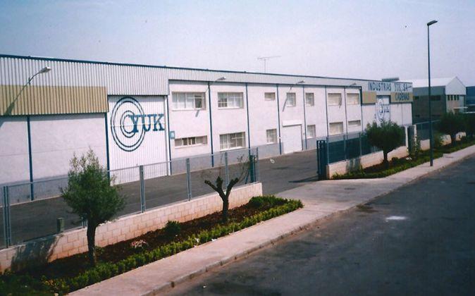 Las instalaciones de la empresa en Ribarroja.