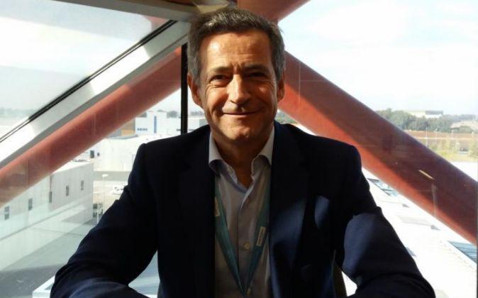 Antonio Gómez-Guillamón, presidente de la Asociación Empresarial...