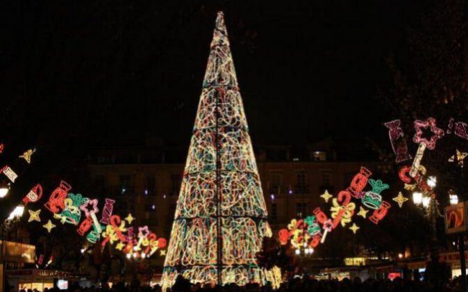 Árbol de Navidad de Granada.