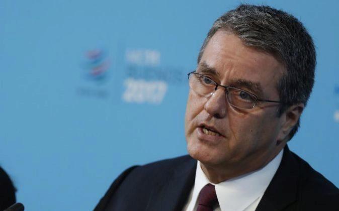 El director general de la Organización Mundial del Comercio (OMC)...