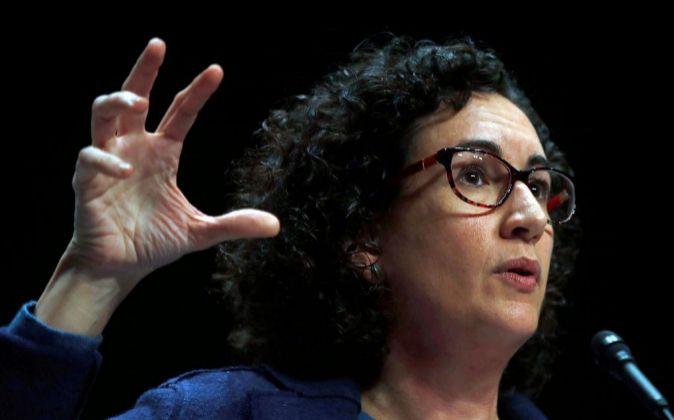 La secretaria de ERC y número 2 en las elecciones del 21D, Marta...