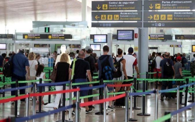 Imagen del aeropuerto de El Prat, en Barcelona.