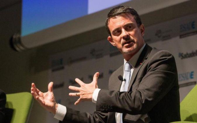 El exprimer ministro francés, Manuel Valls.