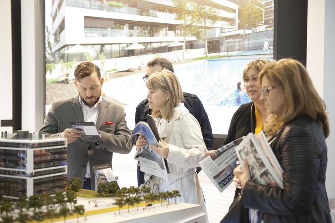 Crece la inversión inmobiliaria en España.