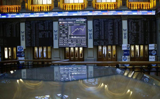 Vista de la Bolsa de Madrid