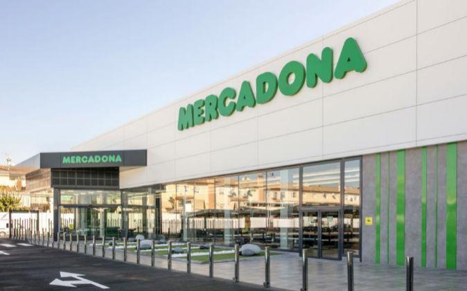 Supermercado de nueva generación de Mercadona.