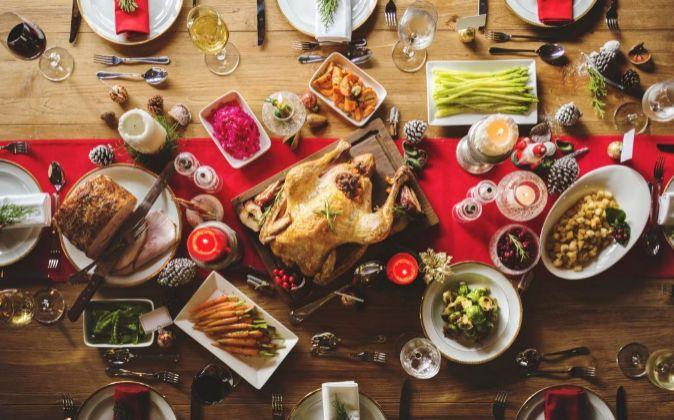 Cena de Navidad.