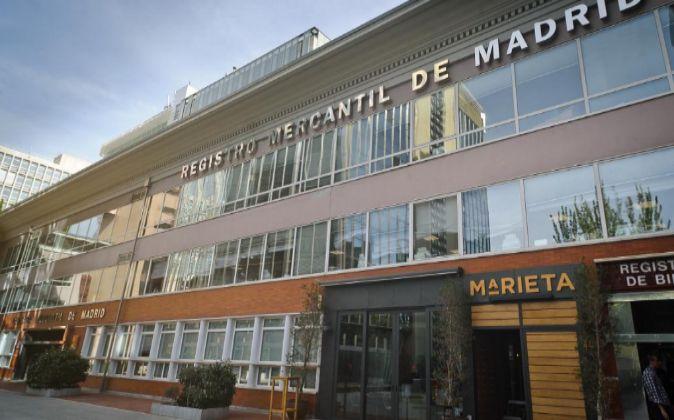 Registro mercantil de Madrid.