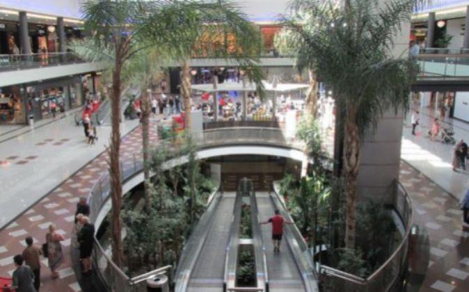 Centro comercial La Cañada, propiedad de la Socimi GGC.