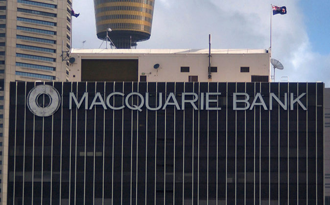 Logo de Macquarie.