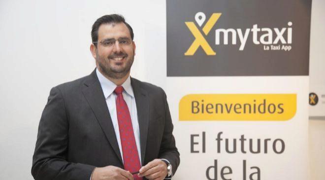 Pablo Sánchez Pérez, director general de MyTaxi en España.