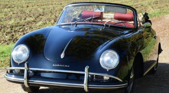 Un Porsche 356, adjudicado por 181.000 euros, es el objeto más caro...