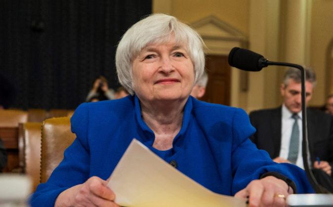 La presidenta de la Reserva Federal de EEUU, Janet Yellen.