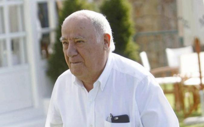 El empresario Amancio Ortega.