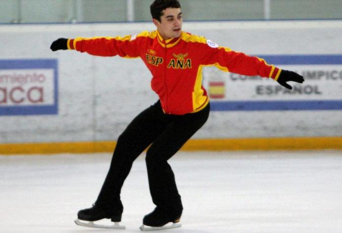 El patinador madrileño Javier Fernández.