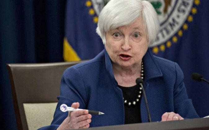 La presidenta de la Reserva Federal, Janet Yellen