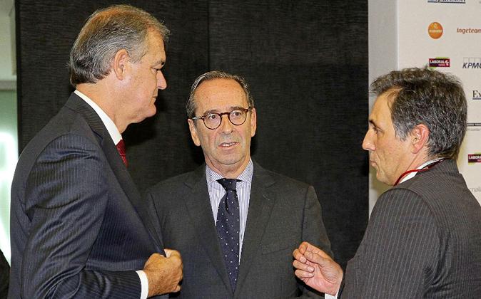 De izquierda a derecha, Javier García Lurueña y Gregorio...