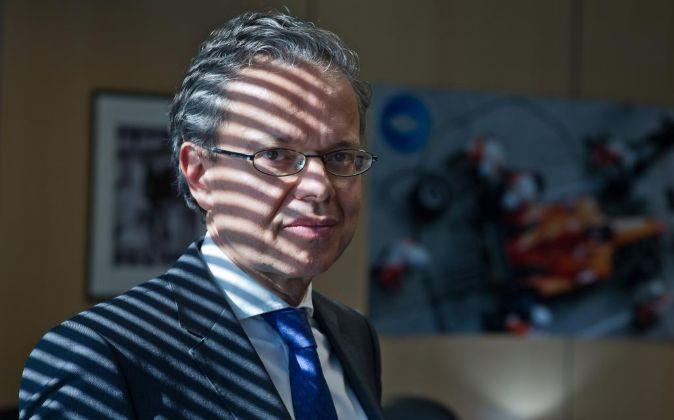 Paulo Morgado, en su despacho de la sede central de la compañía en...