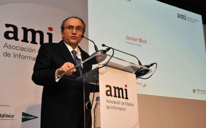 Javier Moll, presidente de la Asociación de Medios de Información...