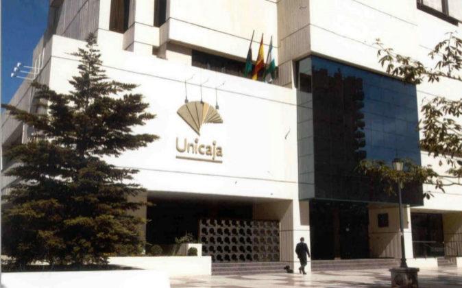 Sede de Unicaja Banco en Málaga.