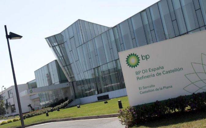 Refinería de BP en Castellón.