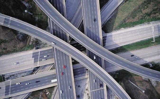 Imagen de la autopista 407 ETR en Canadá, gestionada por Ferrovial