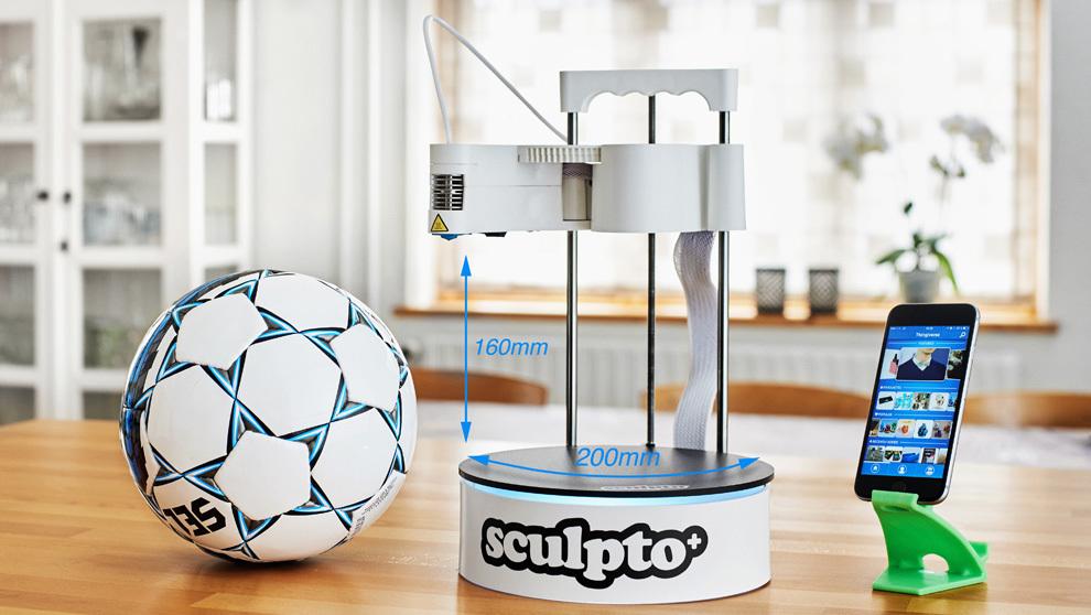 Sculpto+ impresora 3D