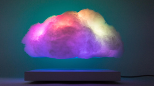 Floating Cloud nube con luces LED