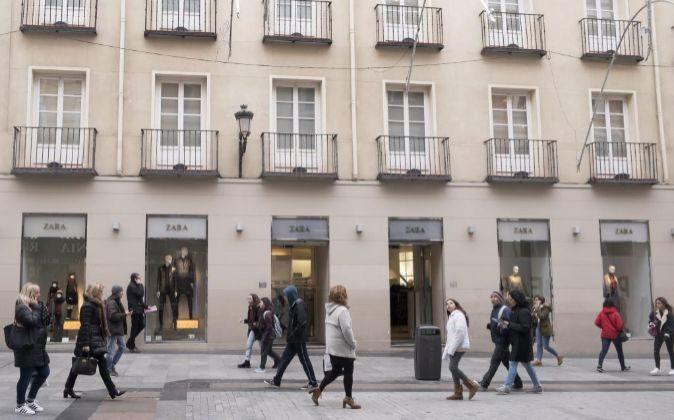 La tienda de Zara situada en Preciados 18 (Madrid), forma parte de la...