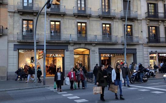 Inditex vende el local del Zara de la calle Pelayo de Barcelona. 89aeef9d428