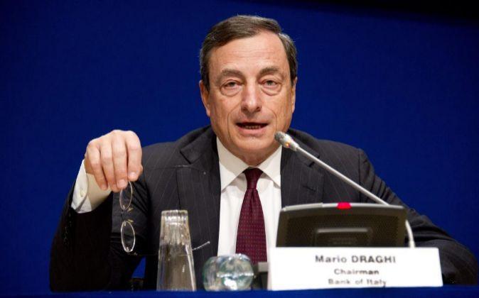 El presidente del Banco de Italia, Mario Draghi.