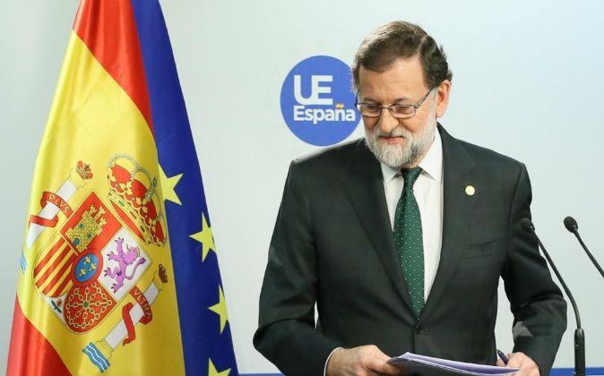 El presidente del Gobierno español, Mariano Rajoy.