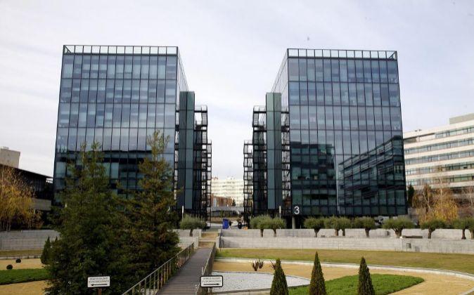 Edificios comprados por Axiare situados en el parque empresarial...