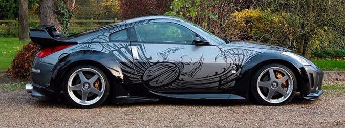 El Nissan 350 Z de Fast & Furious que se subastará