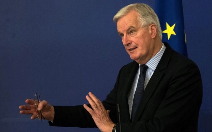 El negociador comunitario del Brexit, Michel Barnier.