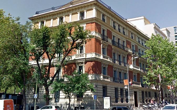 Imagen de la sede del grupo PSN, en Madrid.
