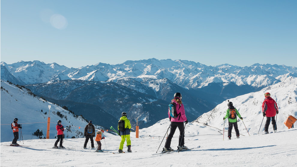 Pista de esquí Valle de Arán estación de Baqueira Beret