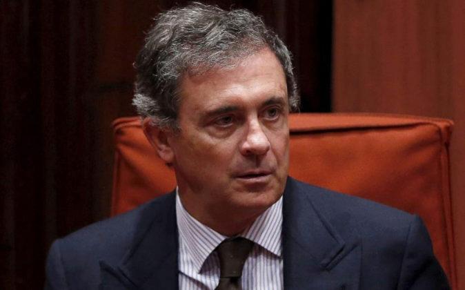 Jordi Pujol Ferrusola, hijo mayor del expresidente de la Generalitat...