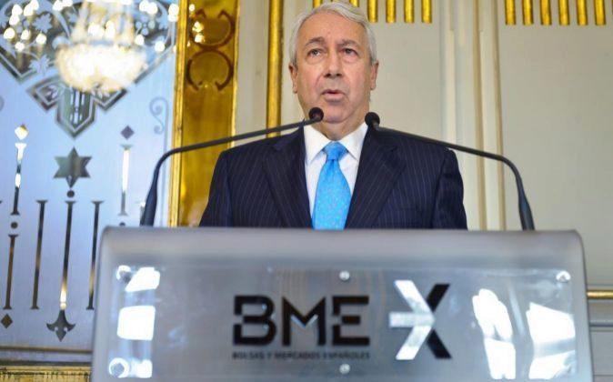 Antonio Zoido, presidente del BME.