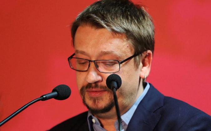 El cabeza de lista de Cataluña en Comú Podem, Xavier Domènech.