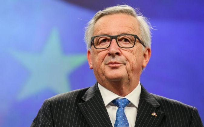 El presidente de la Comisión Europea, Jean-Claude Juncke.