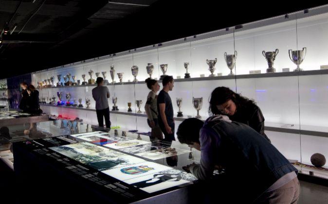 Museo del FC Barcelona.